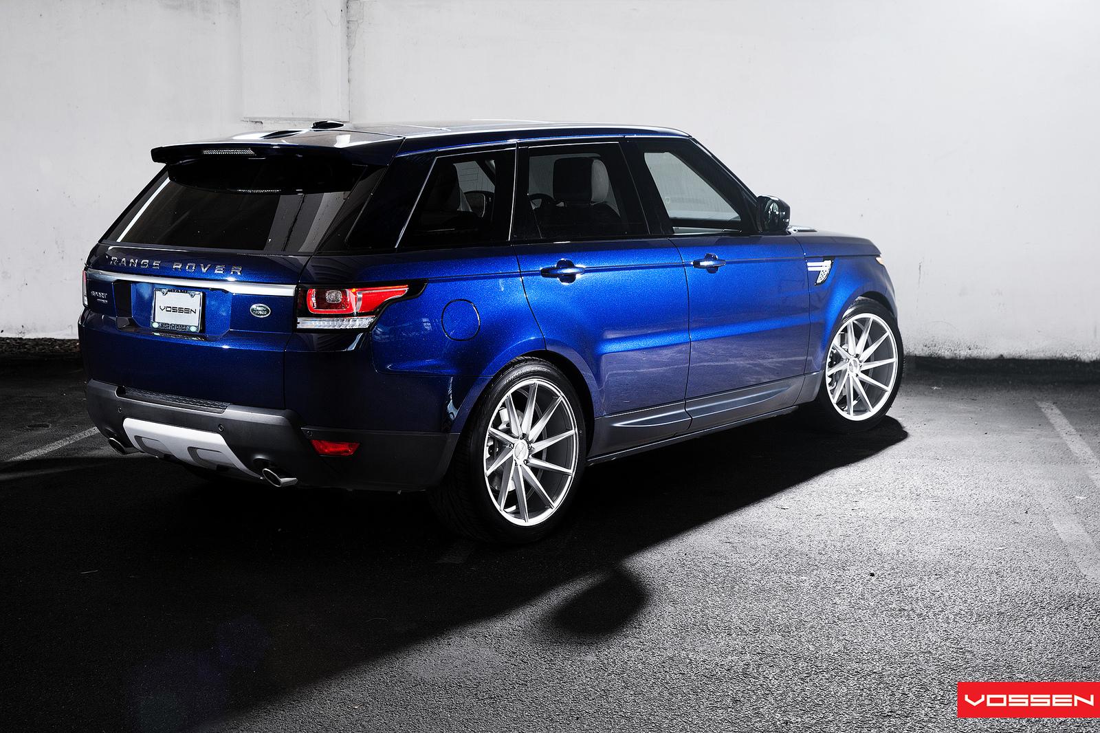 2014 range rover sport gets 22 inch vossen cvt wheels video autoevolution. Black Bedroom Furniture Sets. Home Design Ideas