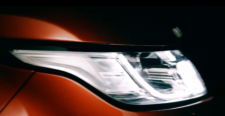 2014 Range Rover Sport Headlight Shown in First Video Teaser [Video]