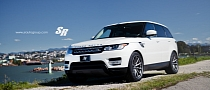 2014 Range Rover Sport on CV1 Vossen Wheels