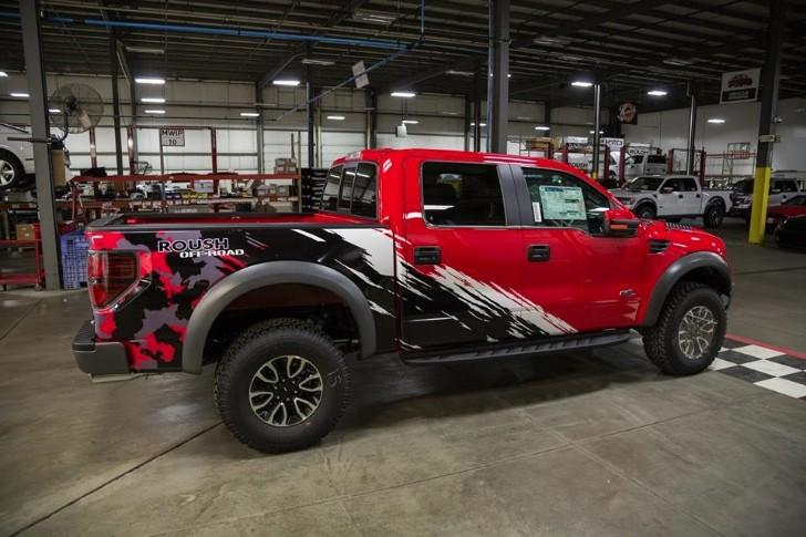 2014 Roush Raptor Truck Gets