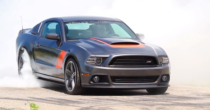 2014 roush stage 3 mustang one minute burnout autoevolution. Black Bedroom Furniture Sets. Home Design Ideas