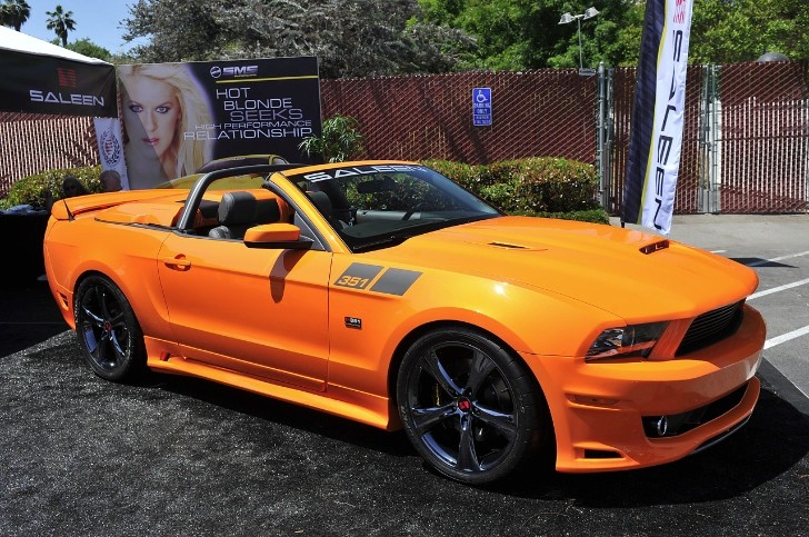 2014 Saleen 351 Supercharged Mustang Revealed in California [Photo Gallery]