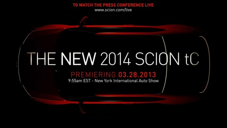 2014 Scion tC Coupe to Debut in New York