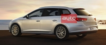 2014 SEAT Leon ST Estate Photos Leaked
