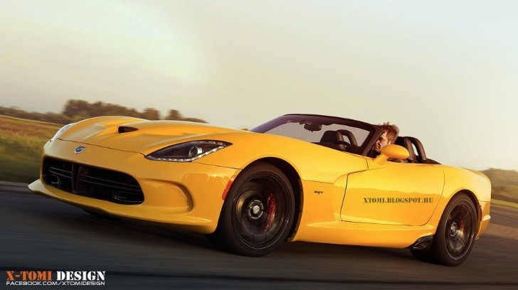 2014 SRT Viper Roadster Rendering