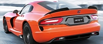 2014 SRT Viper TA Hits the Track [Photo Gallery]