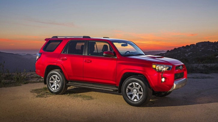 2014 Toyota 4Runner Awarded as Best Value Off-Road Vehicle