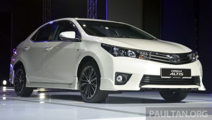 2014 Toyota Corolla Altis Official Launch in Malaysia