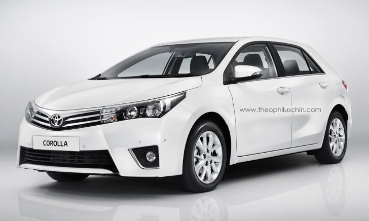 2014 Toyota Corolla Hatchback Rendered Again