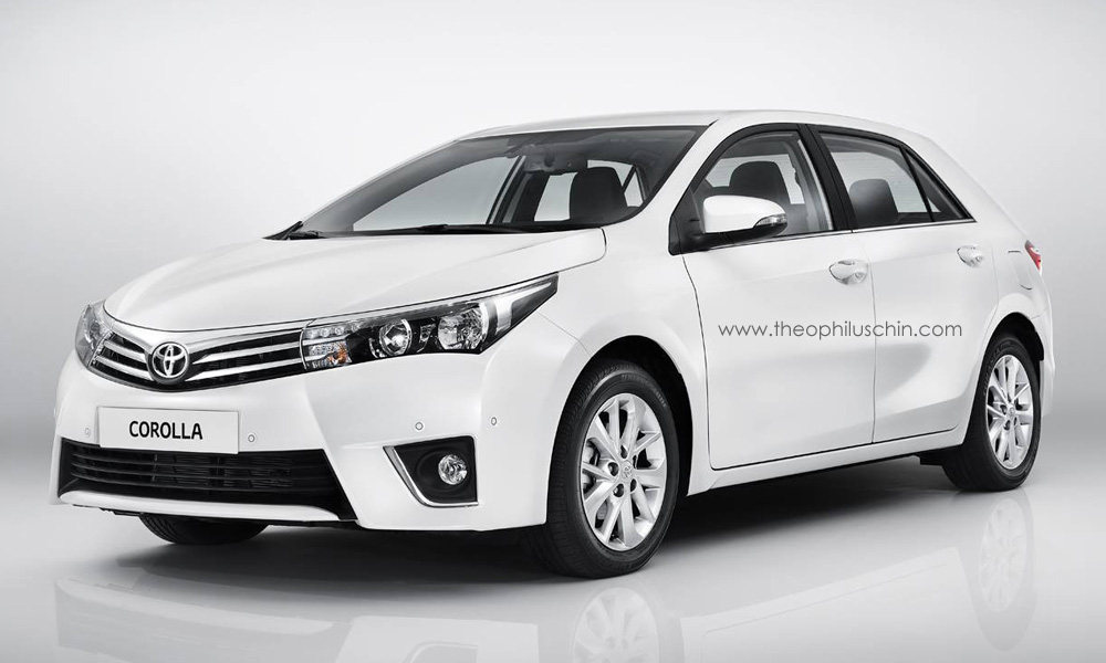 Have you had enough 2014 Toyota Corolla-based renderings? We haven't ...