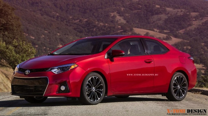2014 Toyota Corolla Rendered as Coupe