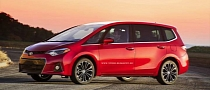 2014 Toyota Corolla Rendered as Minivan