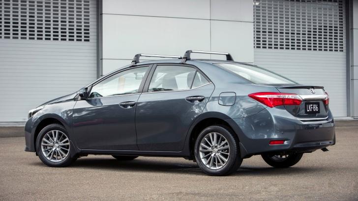 2015 Toyota Corolla Roof Rack