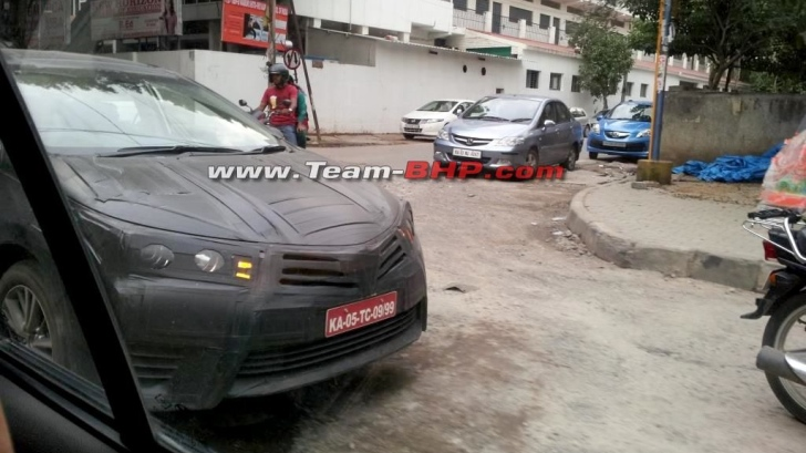 2014 Toyota Corolla Still Being Tested in India