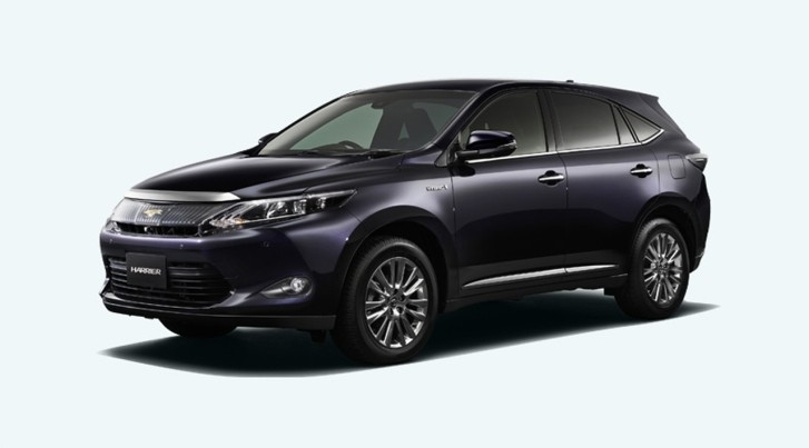 2014 Toyota Harrier First Photos Released