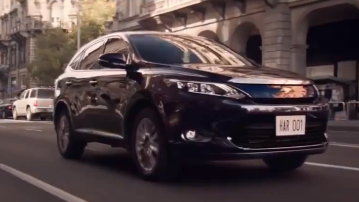 2014 Toyota Harrier Hybrid Gets New Short Ad [Video]
