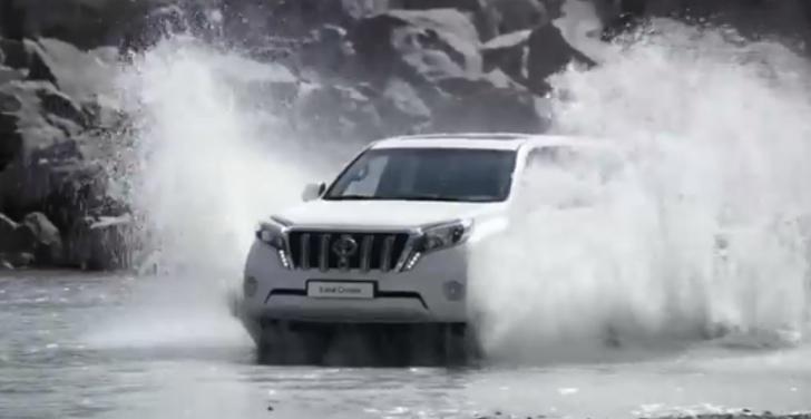 2014 Toyota Land Cruiser Prado Makes Video Debut - Video