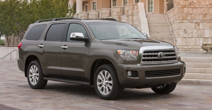 2014 Toyota Sequoia Gets Standard Entune Audio