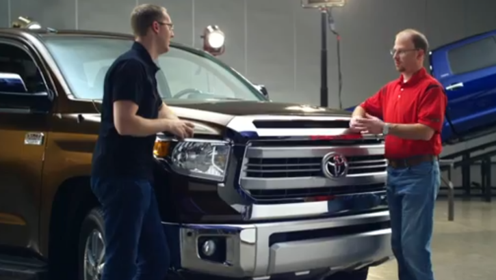 2014 Toyota Tundra Explained by Chief Engineer [Video]