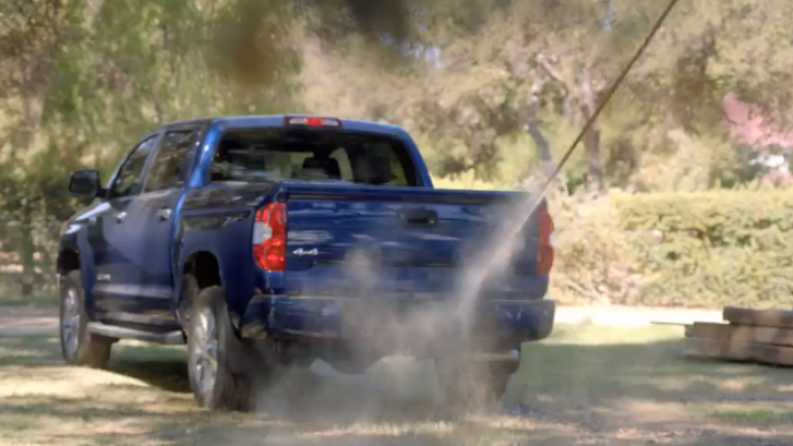 2014 Toyota Tundra Helps You Unbuild Stuff [Video]