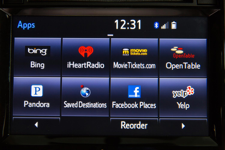 2014 toyota entune audio system