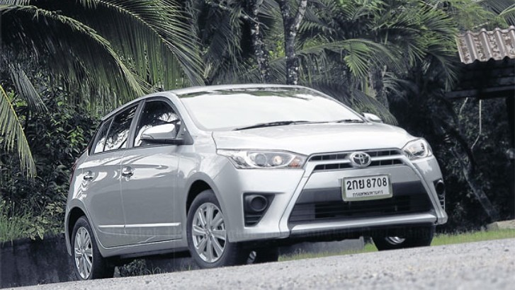 2014 toyota yaris tested in thailand toyota corolla 2013 price latest
