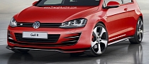 2014 Volkswagen Golf 7 R Rendered