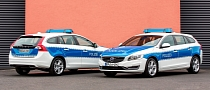 2014 Volvo V60 Plug-In Hybrid for German Police