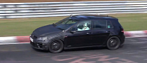 2014 VW Golf 7 R Testing at Nurburgring [Video]