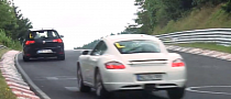 2014 VW Golf R Keeping Up With a Cayman on the Nurburgring [Video]