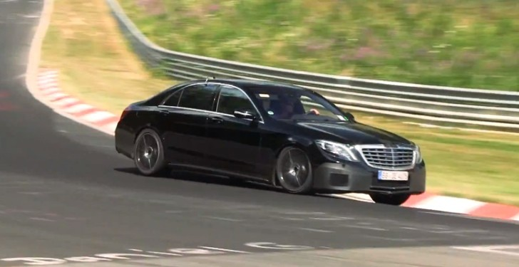 2014 W222 Mercedes S600 and S65 AMG Filmed at 'Ring [Video]