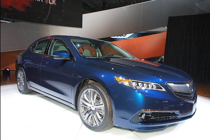 Acura TLX Priced Starting From Rated At Up To MPG - 2015 acura tlx mpg