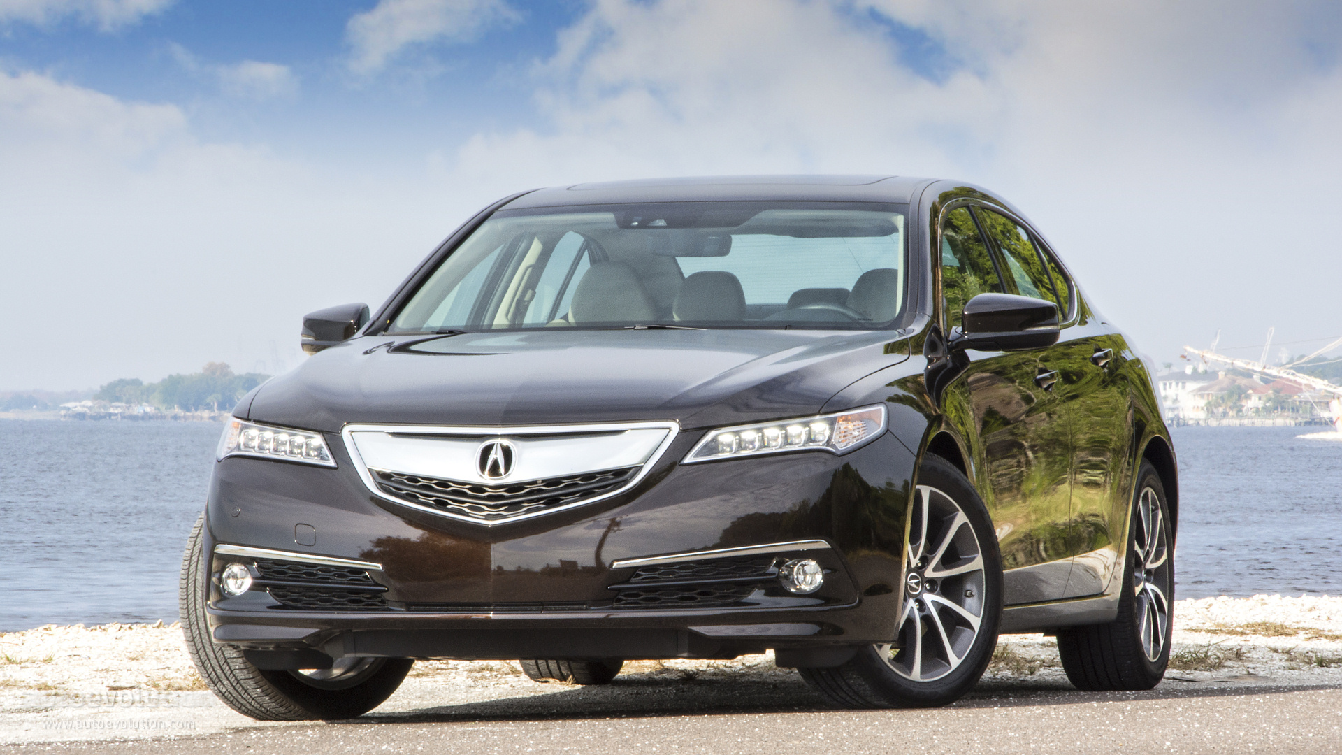 2015 acura tlx tested where logic meets luxury autoevolution. Black Bedroom Furniture Sets. Home Design Ideas