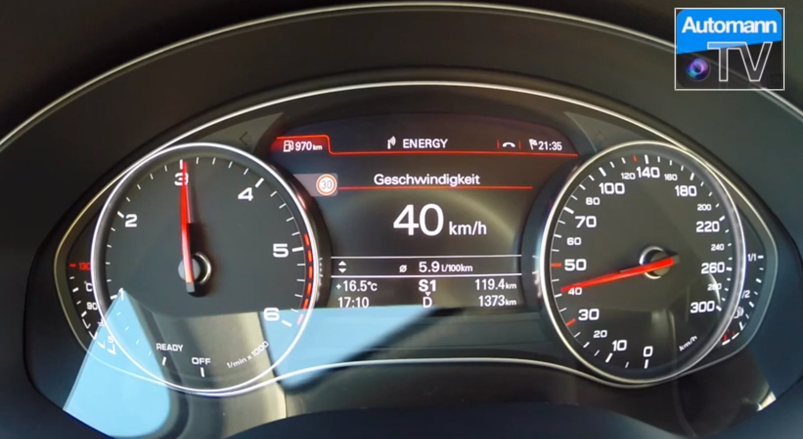 2015 Audi A6 2.0 TDI ultra Acceleration and Top Speed Test ...