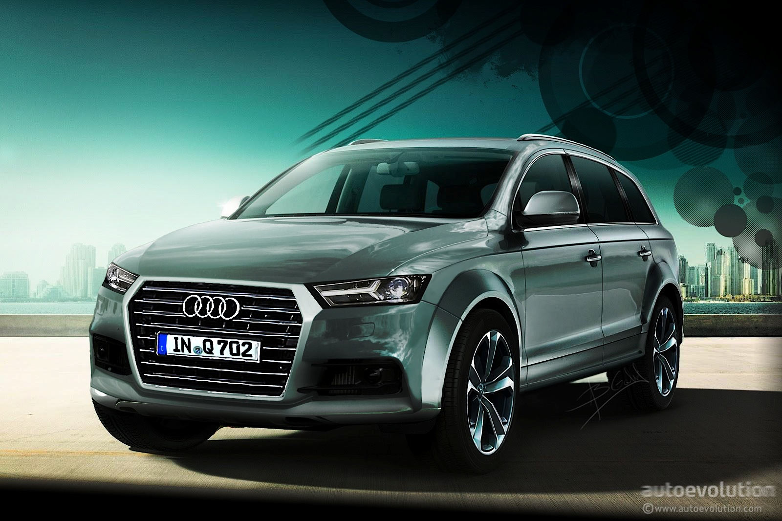 2015 audi q7 a new design language from ingolstadt autoevolution. Black Bedroom Furniture Sets. Home Design Ideas