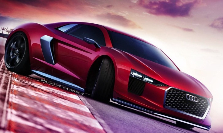 2015 Audi R8 Gets First Rendering