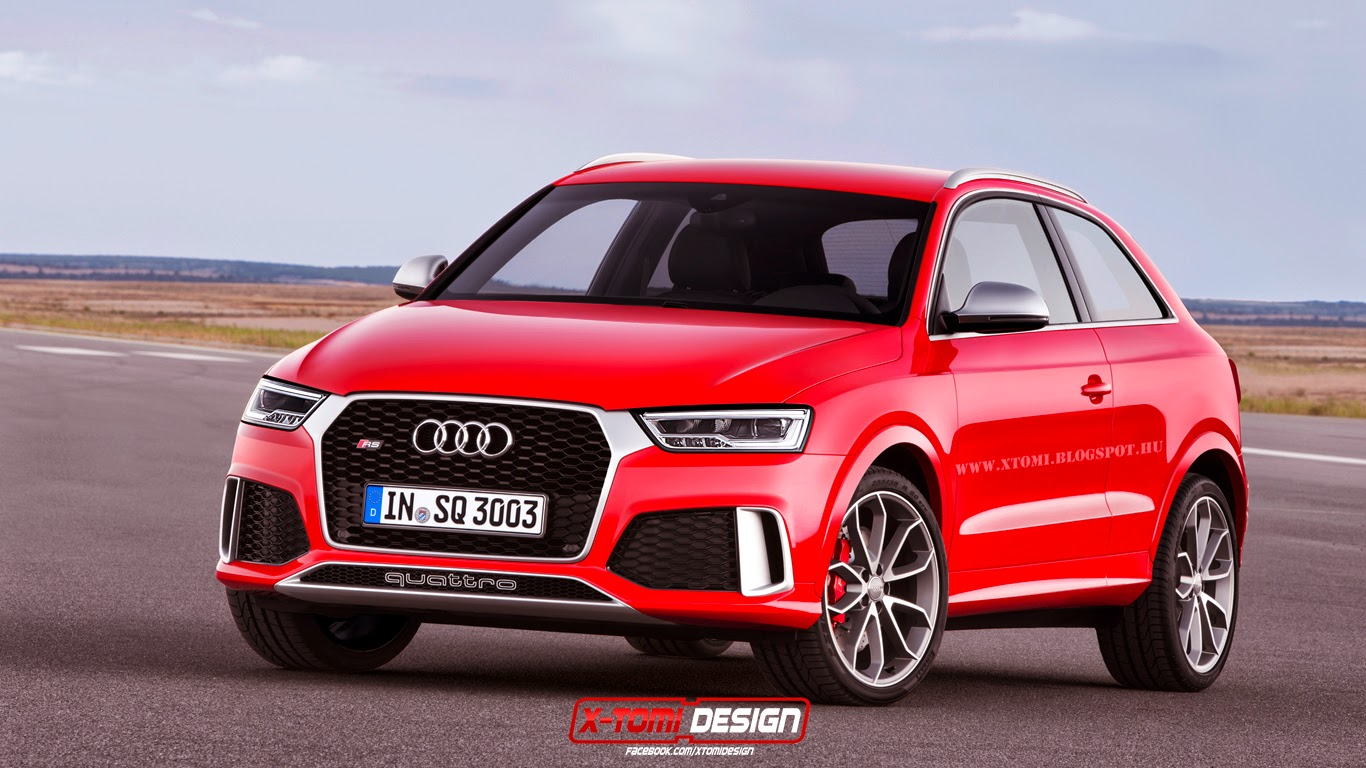 2015 Audi Rs Q3 Rendered As A 3 Door An Evoque