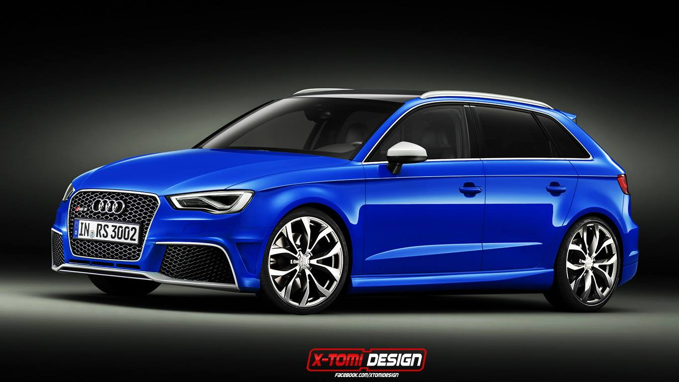 2015 audi rs3 sportback looks to thrill autoevolution. Black Bedroom Furniture Sets. Home Design Ideas