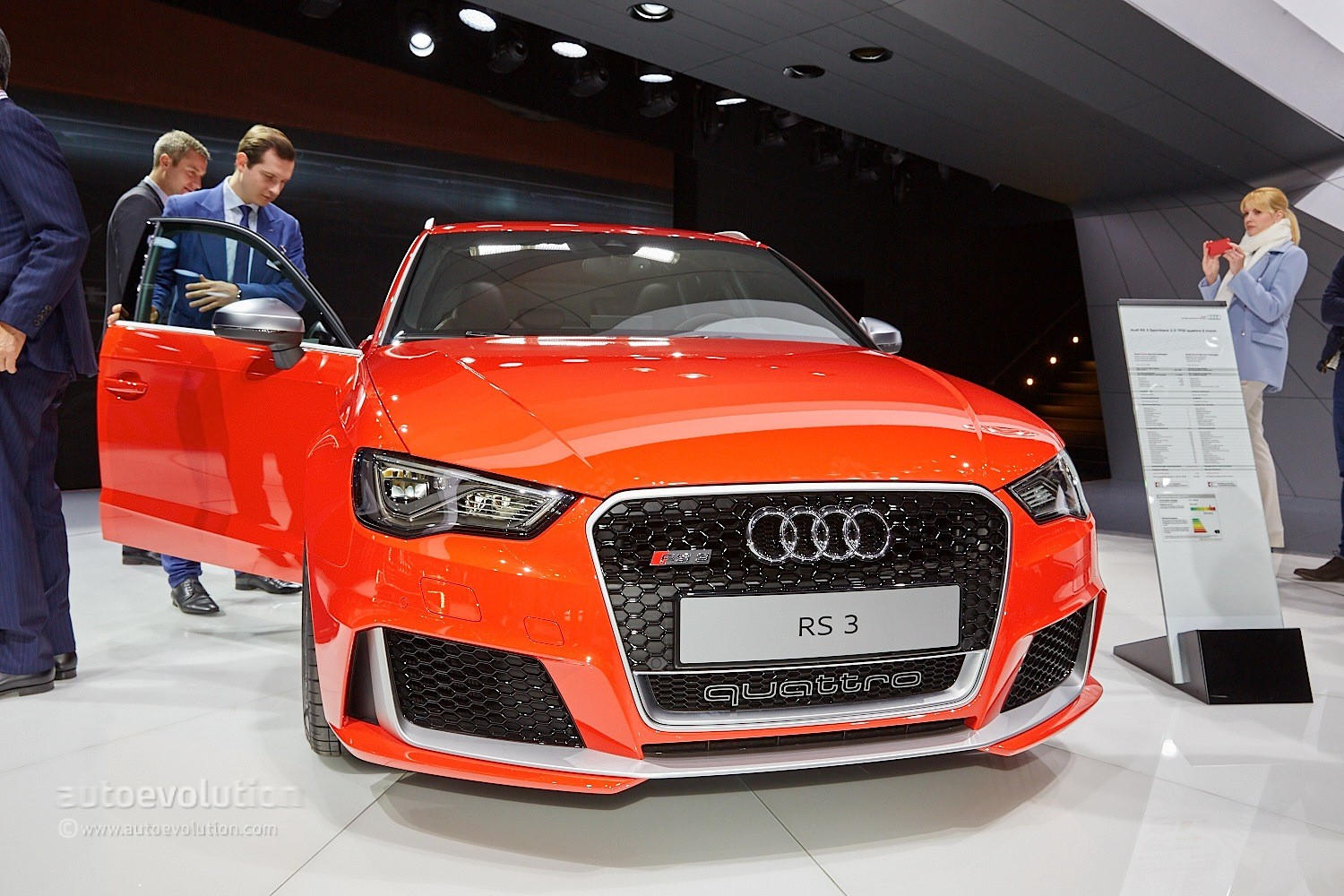 2015 audi rs3 won 39 t get more powerful plus model due to. Black Bedroom Furniture Sets. Home Design Ideas