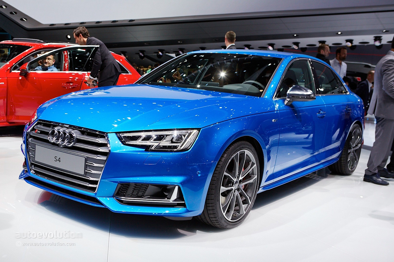 2016 Audi S4 Sedan Live Photos From Frankfurt Iaa