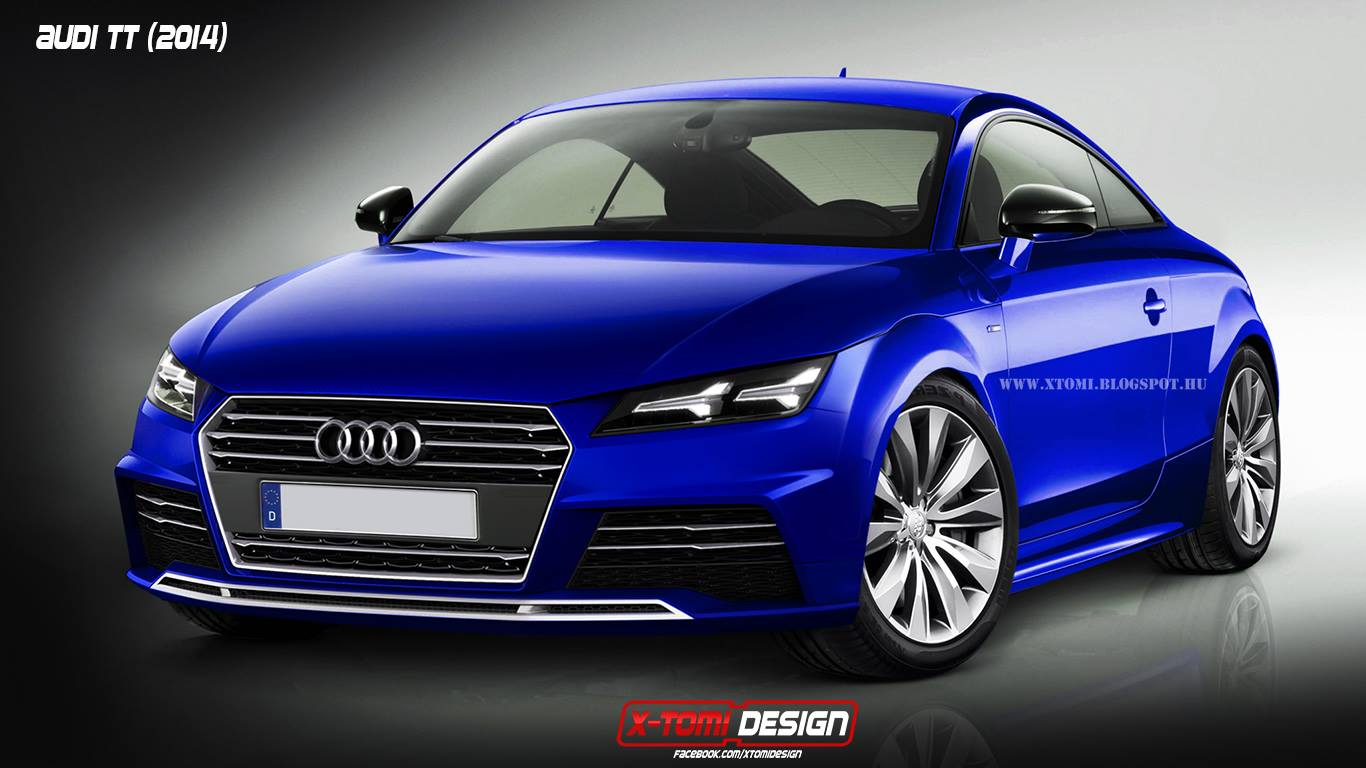 2015 audi tt rendering autoevolution. Black Bedroom Furniture Sets. Home Design Ideas