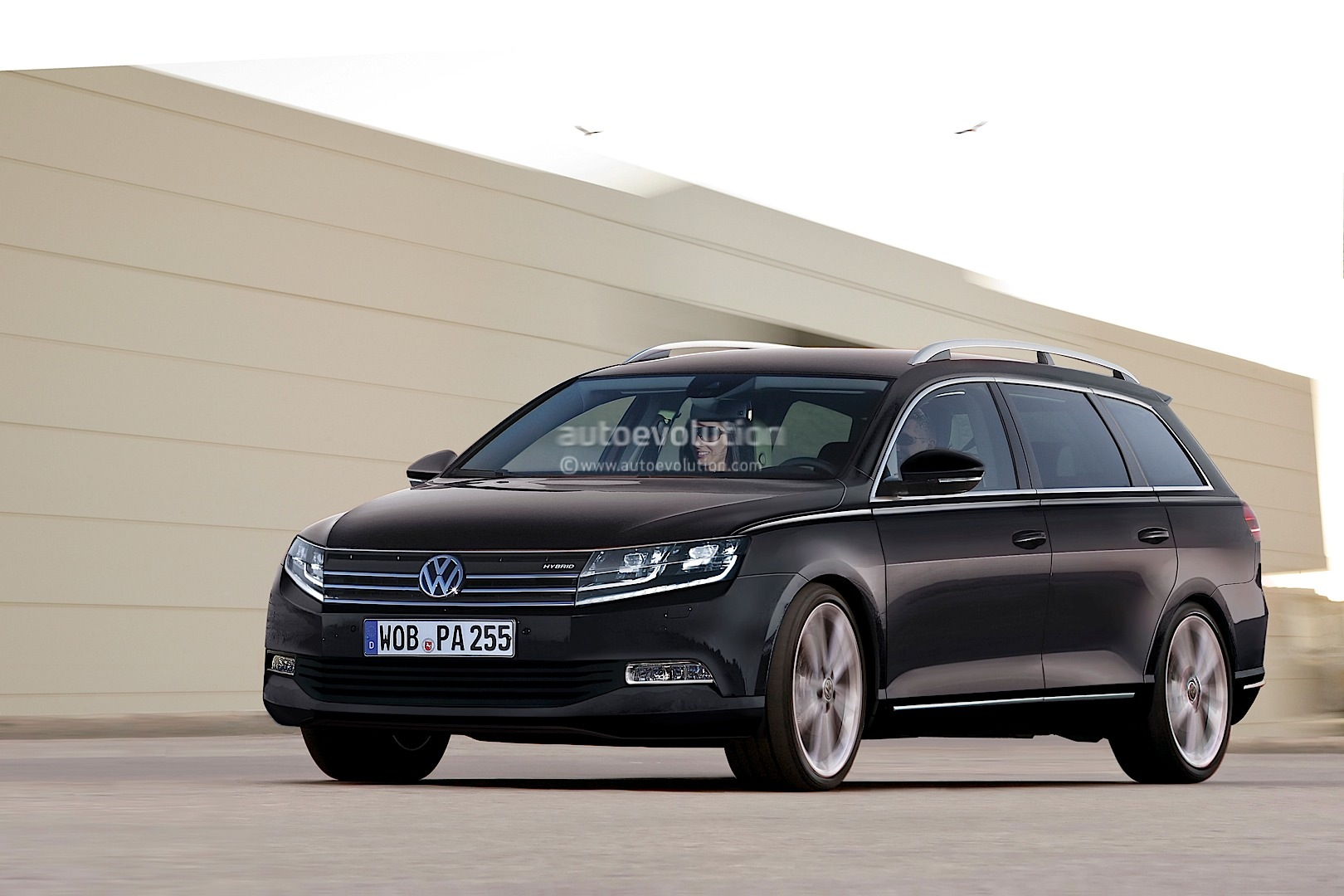 2015 b8 volkswangen passat variant envisioned autoevolution. Black Bedroom Furniture Sets. Home Design Ideas