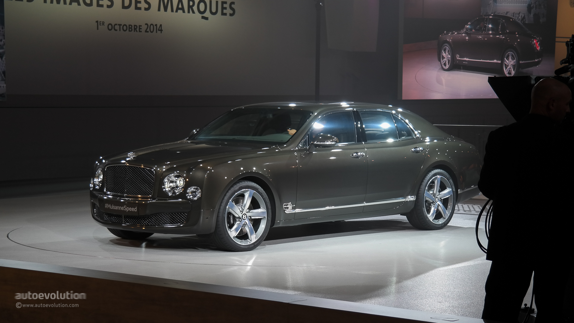 Update: 2015 Bentley Mulsanne Speed Shows Up at Paris Motor Show ...