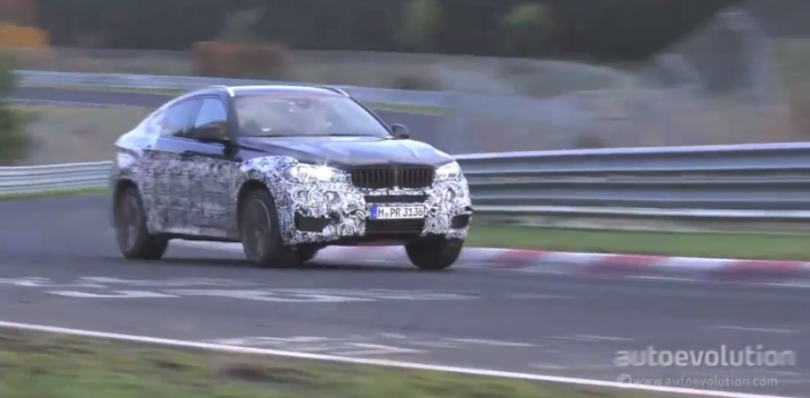 2015 BMW F16 X6 Sounds Good on the Nurburgring [Video]