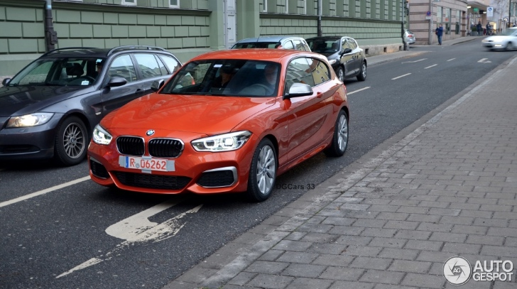 2015 Bmw M135i Facelift Spotted In Real Life Traffic