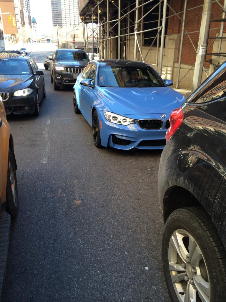 2015 BMW M3 Revs for the Camera in New York  autoevolution