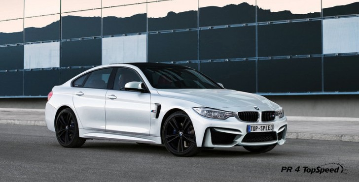 2015 Bmw M4 Gran Coupe Rendered Autoevolution