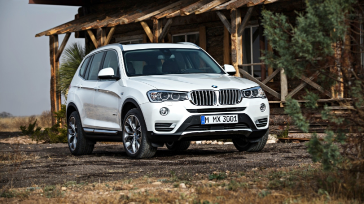 30 Photos 2015 BMW F25 X3