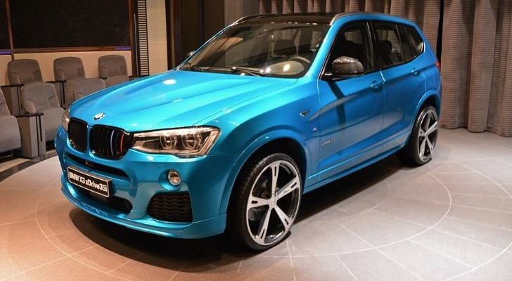 2015 bmw x3 in abu dhabi is a mixture of tuning styles. Black Bedroom Furniture Sets. Home Design Ideas