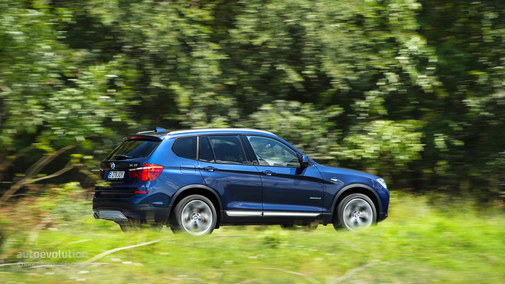 2015 bmw x3 tested autoevolution. Black Bedroom Furniture Sets. Home Design Ideas